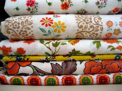 rotary auction fabric