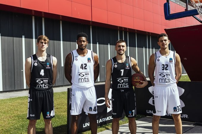 KK Partizan predstavio nove garniture dresova! /FOTO/