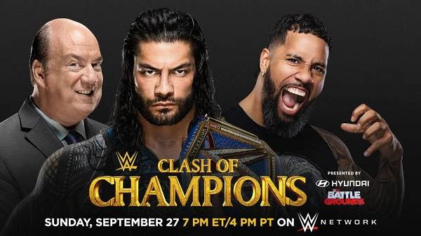 Watch WWE Clash Of Champions 2020 PPV 9/27/20 Live 27th September 2020 Full Show Free 9/27/2020