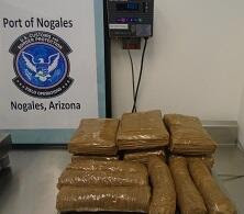 Officers at the DeConcini crossing located and seized a combination of cocaine and meth from within the quarter panels of a smuggling vehicle.