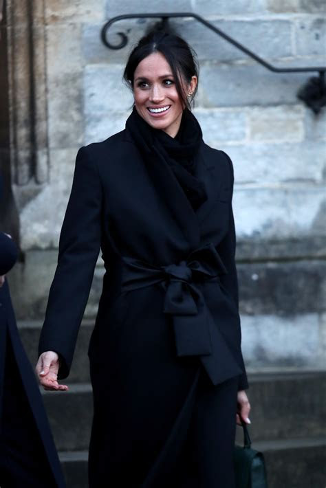 Meghan Markle Wears Stella McCartney Coat; Designer