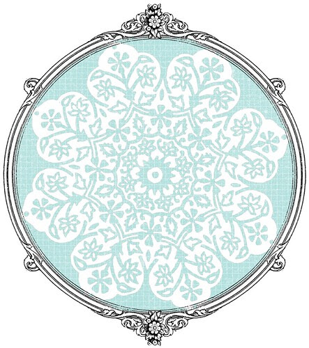 15 batik flower Snowflakes various sizes-  free printable paper SAMPLE