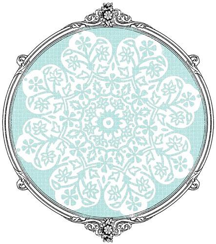 15 batik flower Snowflakes various sizes- free printable paper SAMPLE