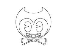 baby bendy coloring pages  printable bendystein