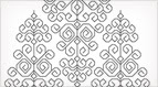 Free Blackwork Pattern for My Whitework Sampler