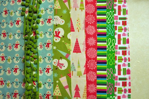 Fabric for Quilted Tree