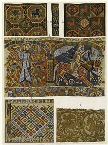 Medieval Scandinavian tapestri... Digital ID: 819856. New York Public Library