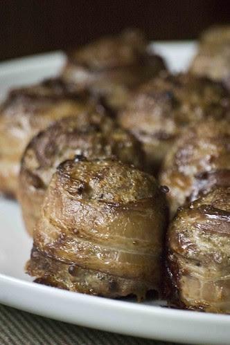 peekoniäärisega lihapall I