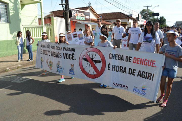 Caminhada Contra Mosquito Aedes Aegypti Re Jornal Do Sudoeste