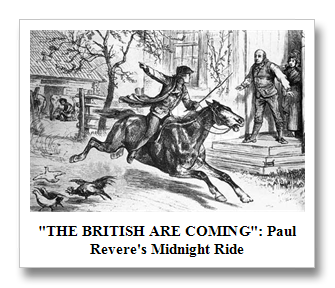 "Image result for ""the British are coming"""