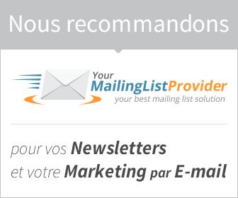 Newsletters & Marketing par E-mail avec YMLP.com