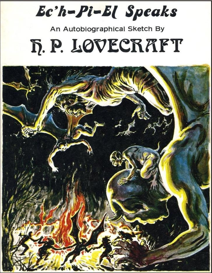 Virgil Finlay - 99, Ec'h-pi-el speaks (H.P Lovecraft)