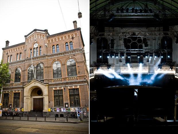 A discoteca Paradiso, em Amsterdã, que funciona em uma antiga igreja (Foto: Divulgação/Harry Brieffies/Paradiso)