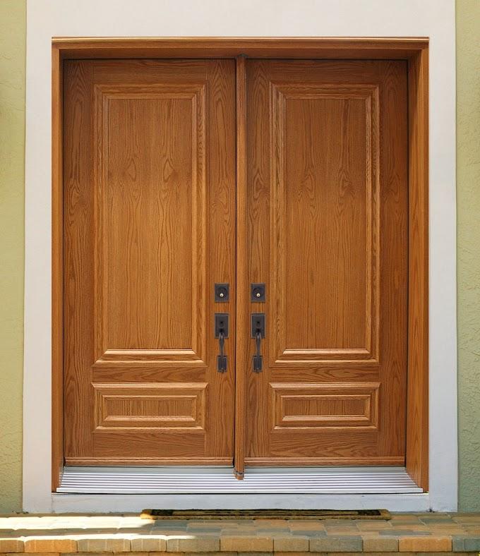 Pintu Rumah Minimalis 2 Pintu Besar Kecil   Ide Rumah Minimalis