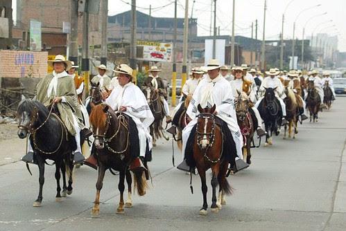 Cabalgata de Lima a Acho