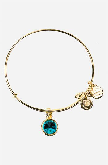 Alex and Ani Birthstone Expandable Wire Bangle | Nordstrom