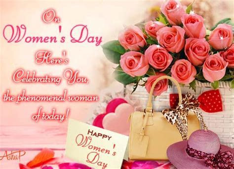 Phenomenal Woman Of Today. Free Happy Women's Day eCards