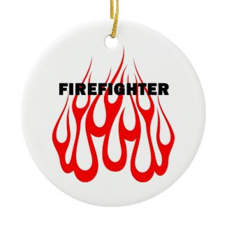 Racey Flames FF ornament