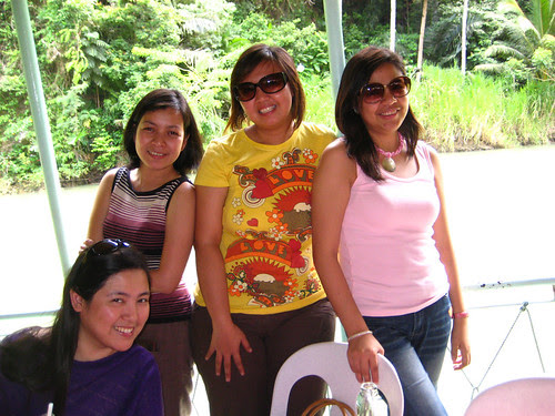 At the Loboc River Riverwatch Cruise