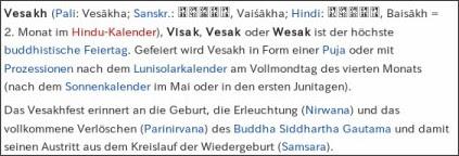 http://de.wikipedia.org/wiki/Vesakh