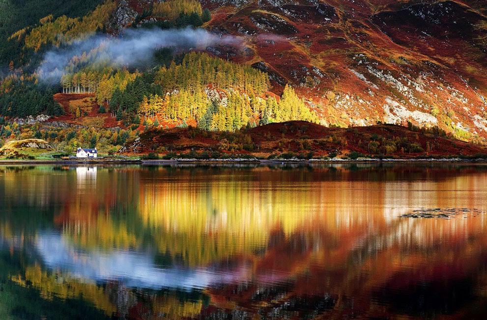 Rorschach : Η εικόνα τραβήχτηκε στο τέλος αυτού του φθινοπώρου στα Highlands της Σκωτίας (© Sorin Rechitan