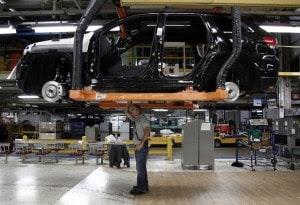 A Chrysler plant in Detroit last month. (Paul Sancya/AP Photo)