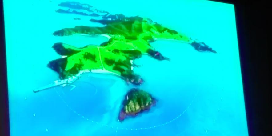 Cetacean Sanctuary Island Overview
