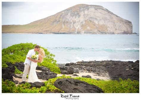 Hawaii Destination Wedding Makapuu Beach by RIGHT FRAME