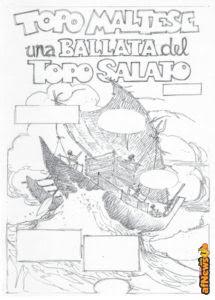 Enna e Cavazzano omaggiano Corto Maltese su Topolino 3197!