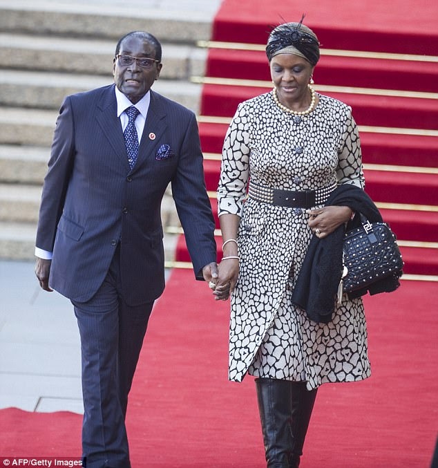 Image result for images of mugabe and wife