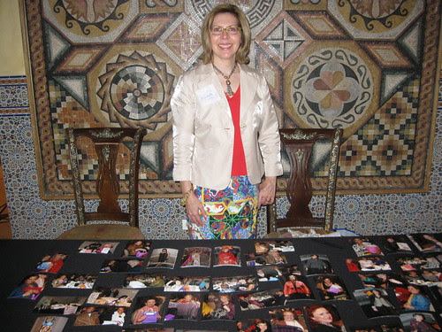 HCC Hostess at Picture Table