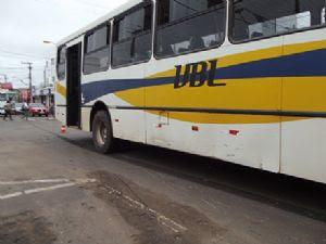 Boa parte dos ônibus da empresa foram apreendidos.
