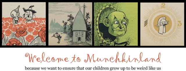 We humbly welcome you to Munchkin Land