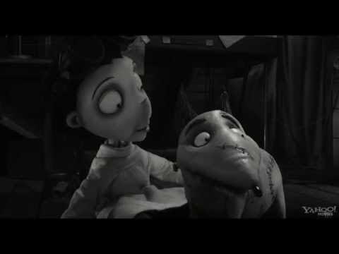 trailer de la pleicula Frankenweenie