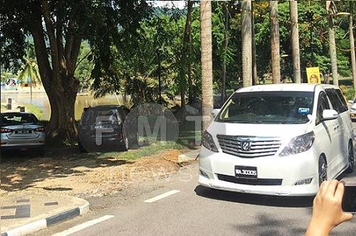 PH menghadap Yang di-Pertuan Besar N. Sembilan