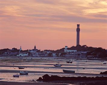 Provincetown Harbor, low tide