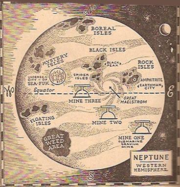 Captain Future Map