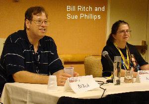 Bill Ritch and Sue Phillips