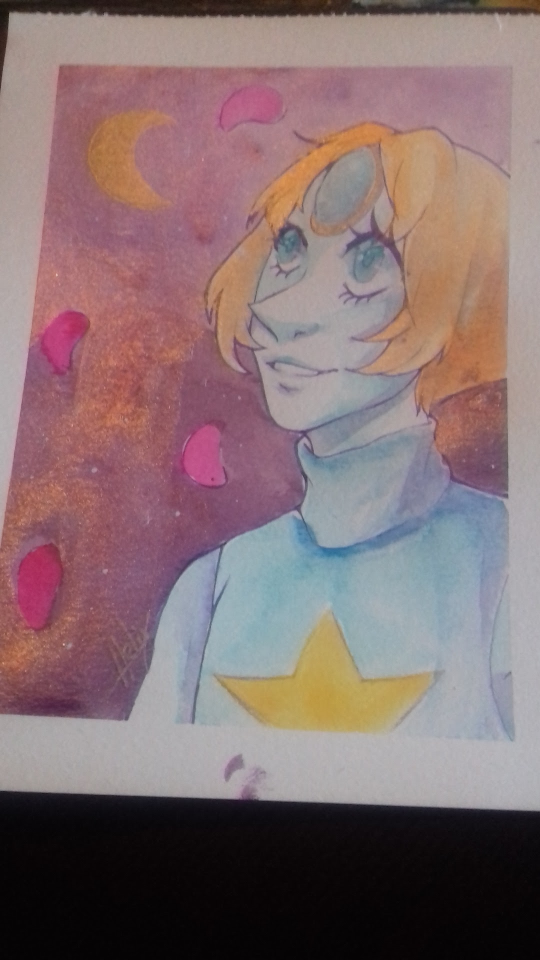 For my friend's birthday :) Fanart - Pearl - Steven Universe