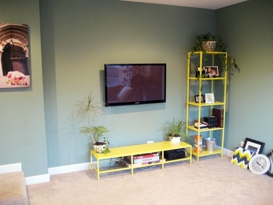 DIY Hiding Cable Cords On Wall Mounted TVs