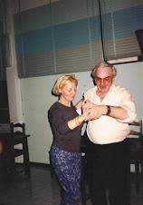 Ballo il M° Gino Gallarati e Renata Perego!