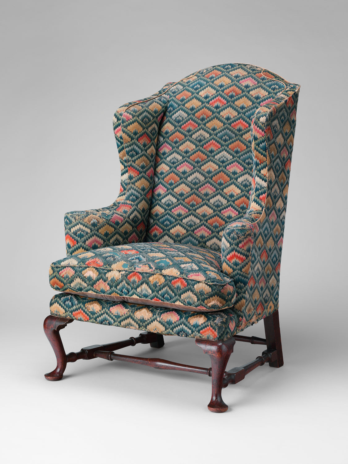Bargello - Back of Easy chair - 1758