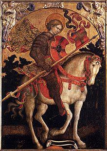Michele Giambono San Crisógono a caballo San Trovaso Venecia.jpg