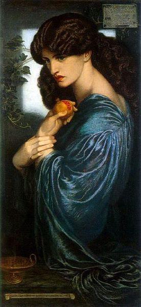 File:Dante Gabriel Rossetti - Proserpine.JPG