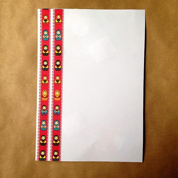 #simple #letter #snailmail #russaindoll #tape #paper