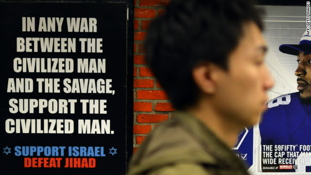 Faith groups launch campaign to counter controversial 'Defeat Jihad' ad