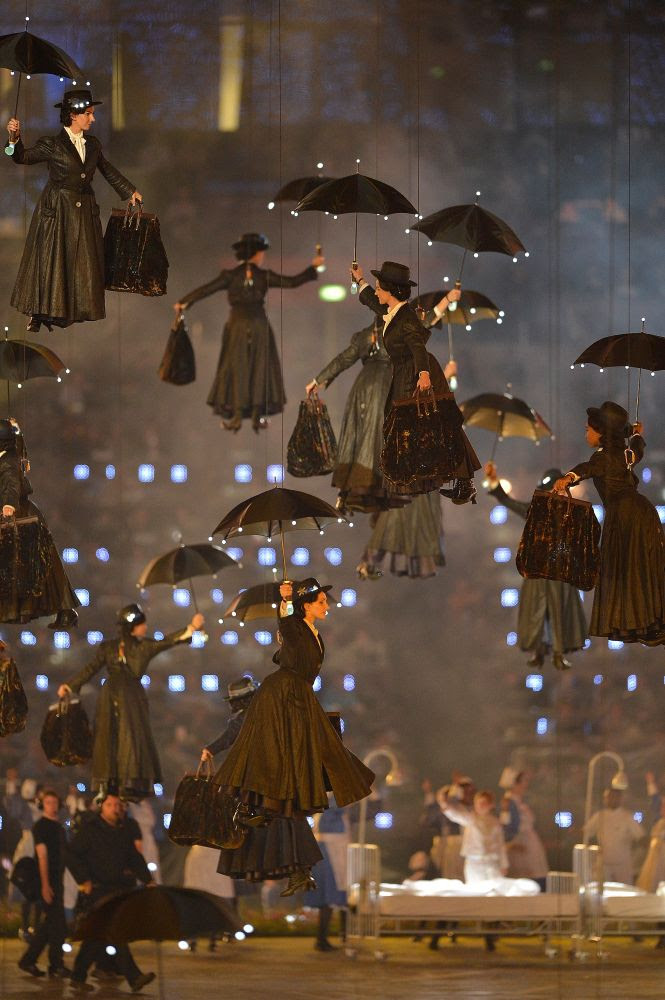 Mary Poppins London Olympics,# Dapoppins, #Umbrella, #Umbrellas, #Black Umbrellas