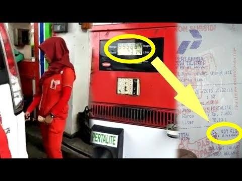 Viral, Kapasitas Tangki Cuma 60 Liter, Tapi Tagihan SPBU Capai 78 Liter