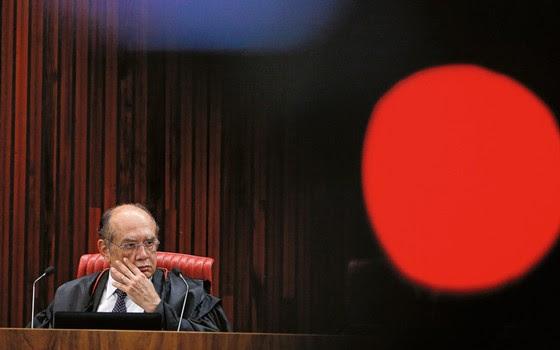 Gilmar Mendes, ministro do TSE (Foto: Sérgio Lima/ Época)