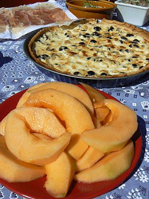 quiche et melon.jpg